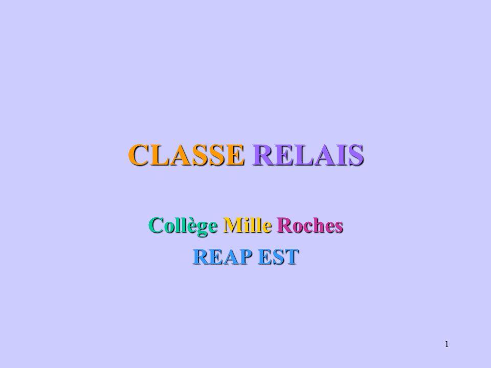 Collège Mille Roches REAP EST