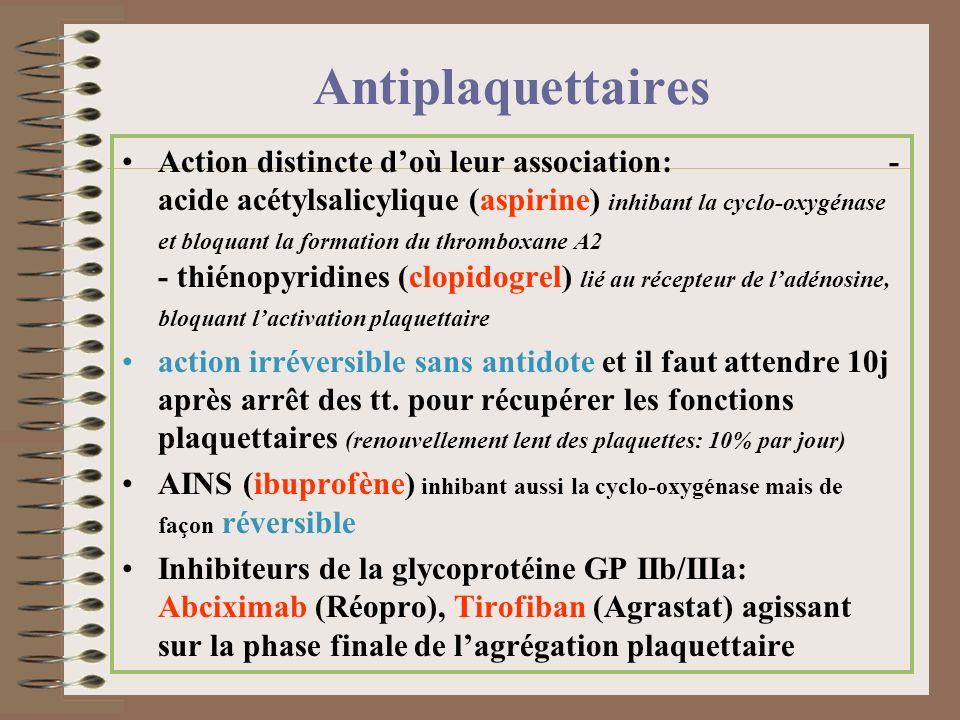 Antiplaquettaires