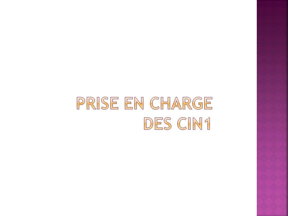 Prise en charge des CIN1