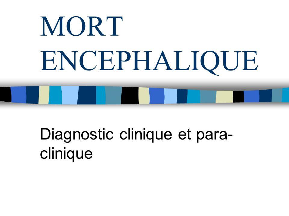 Diagnostic clinique et para-clinique