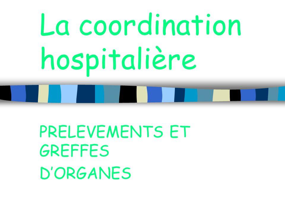 La coordination hospitalière