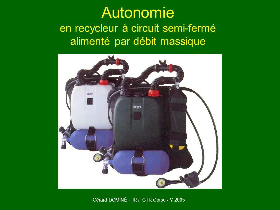 Gérard DOMINÉ – IR / CTR Corse - © 2005