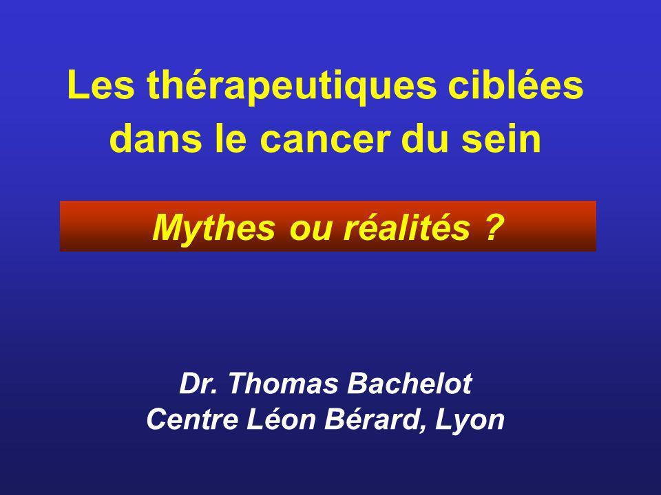 Les thérapeutiques ciblées dans le cancer du sein