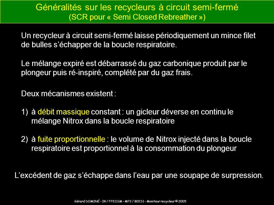 Gérard DOMINÉ – IR / FFESSM – MF2 / BEES1 – Moniteur recycleur © 2005