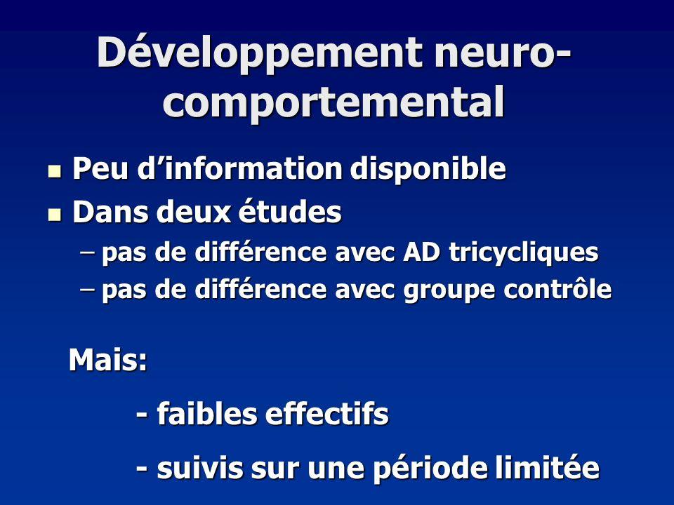 Développement neuro-comportemental
