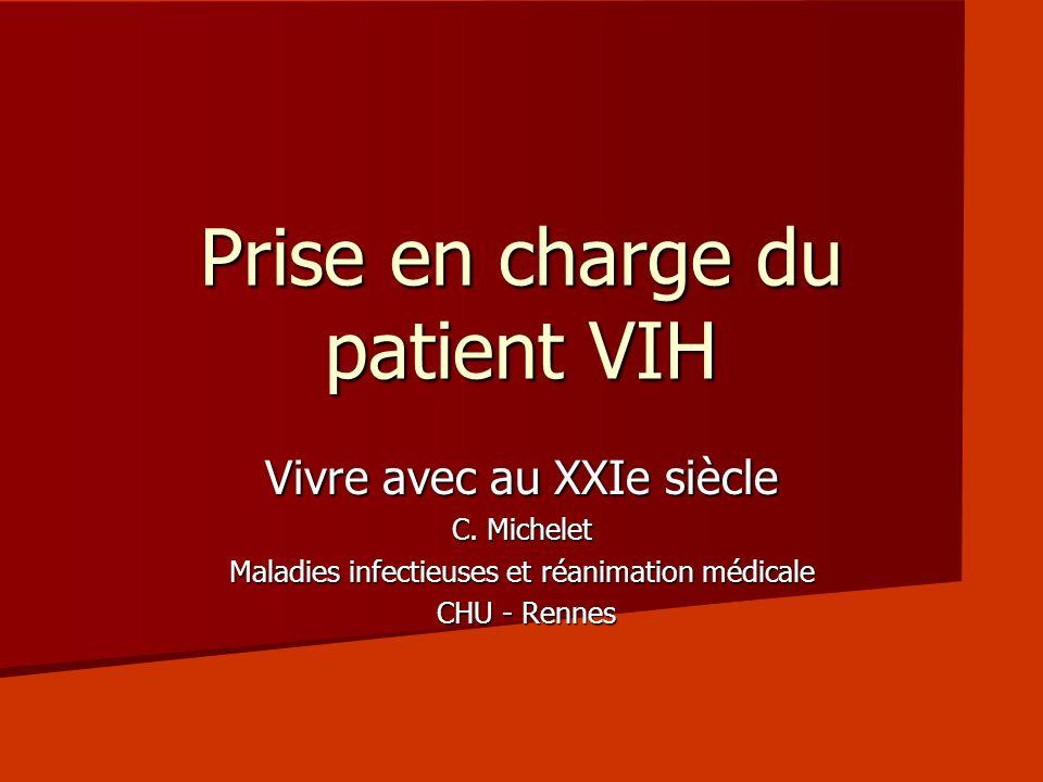 Prise en charge du patient VIH