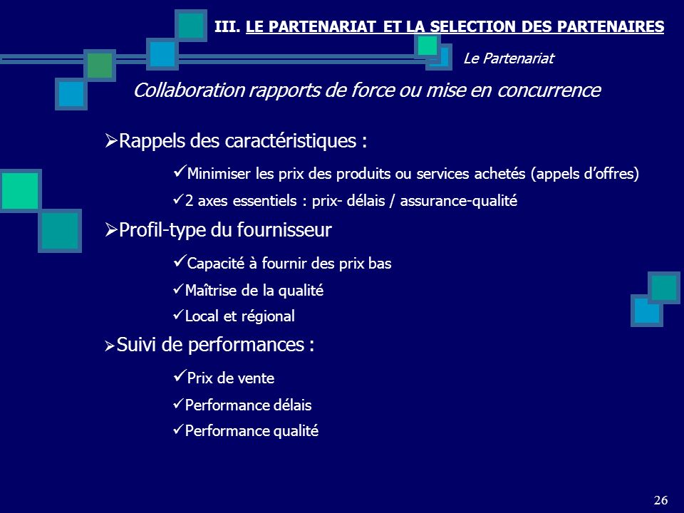 Collaboration rapports de force ou mise en concurrence