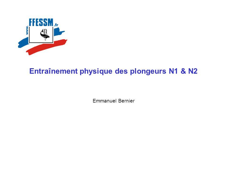 Entraînement physique des plongeurs N1 & N2