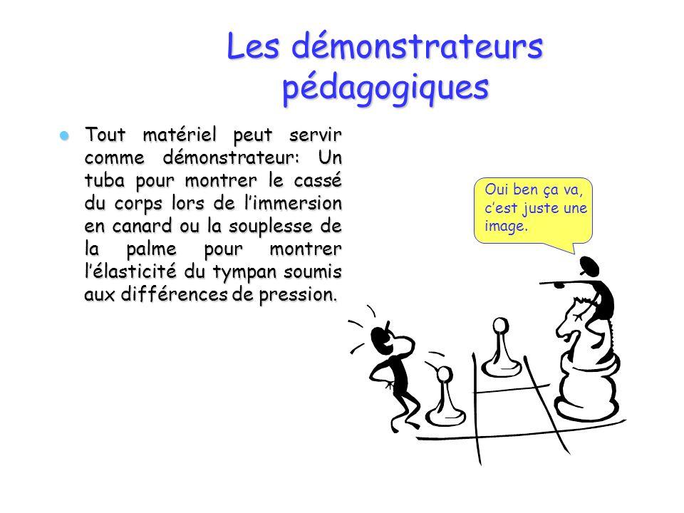 Les démonstrateurs pédagogiques