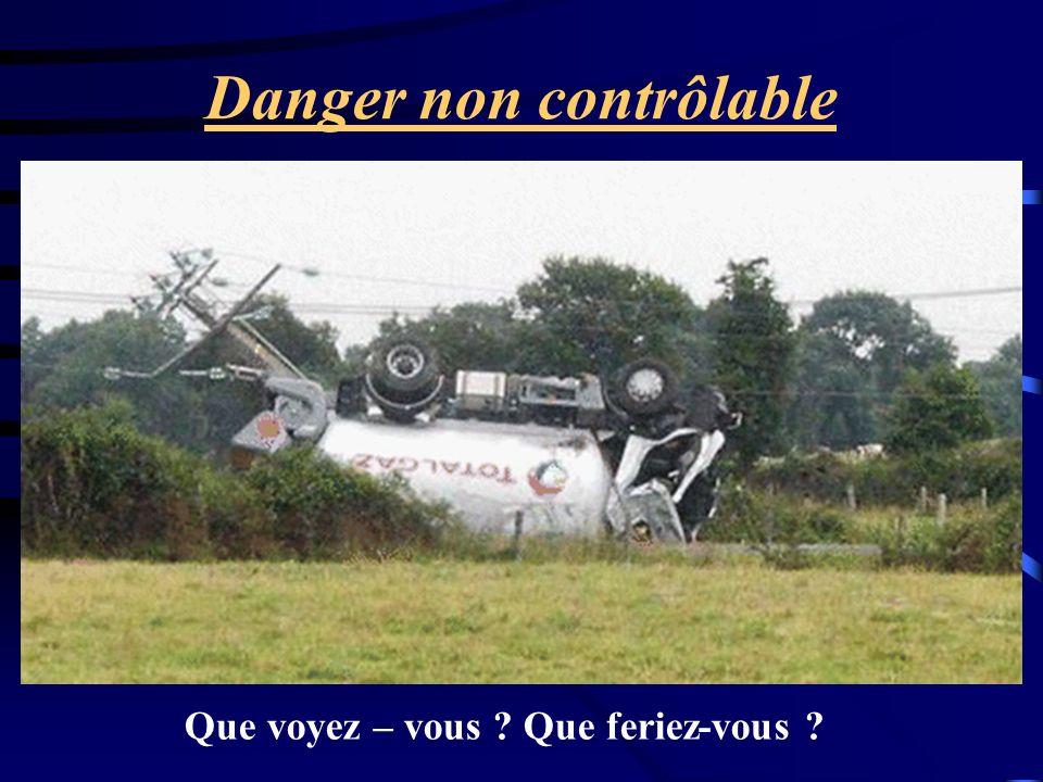 Danger non contrôlable