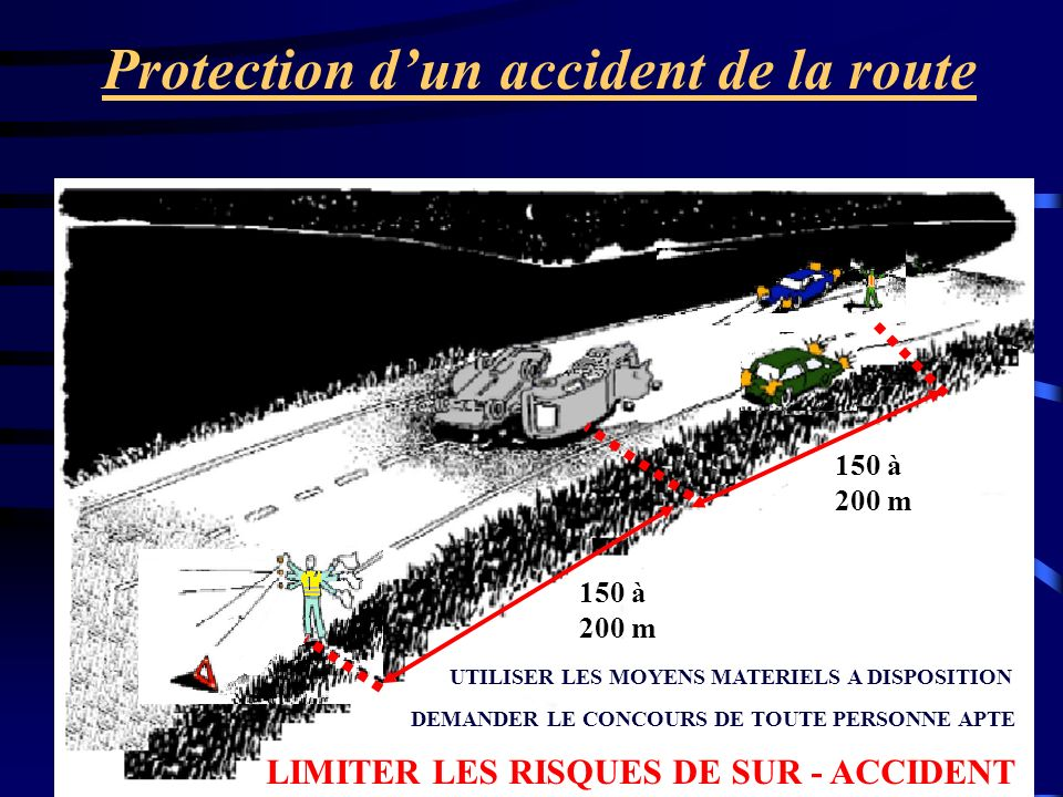 Protection d'un accident de la route