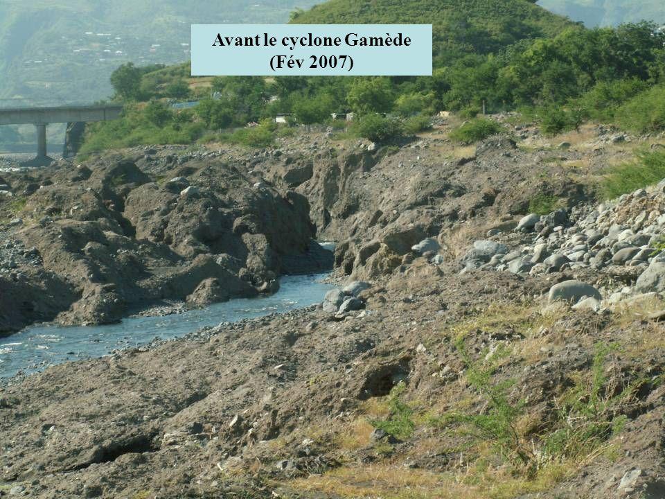 Avant le cyclone Gamède (Fév 2007)