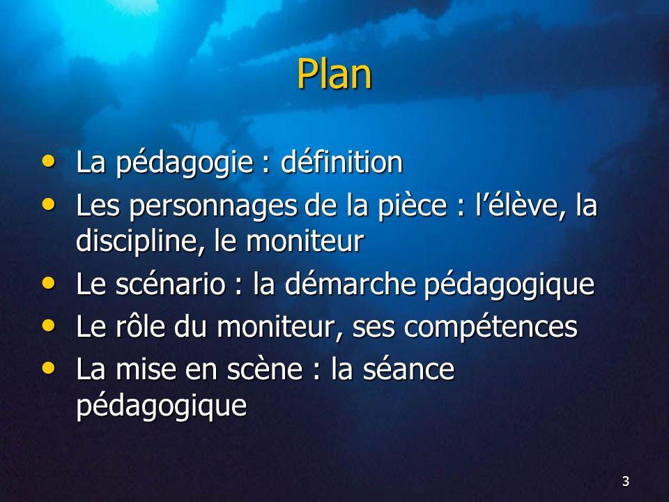 Plan La pédagogie : définition