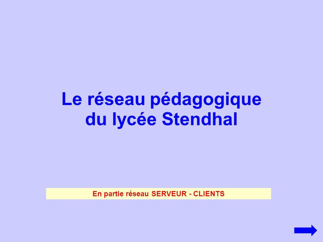 Le réseau pédagogique du lycée Stendhal