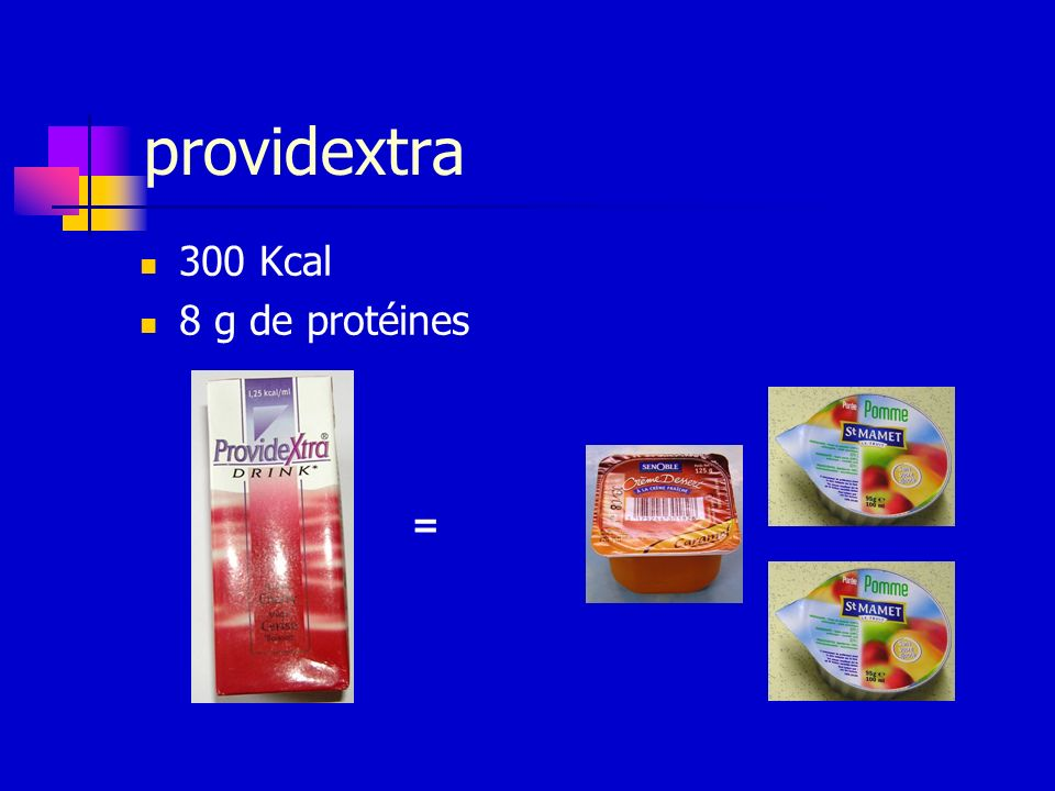 providextra 300 Kcal 8 g de protéines =