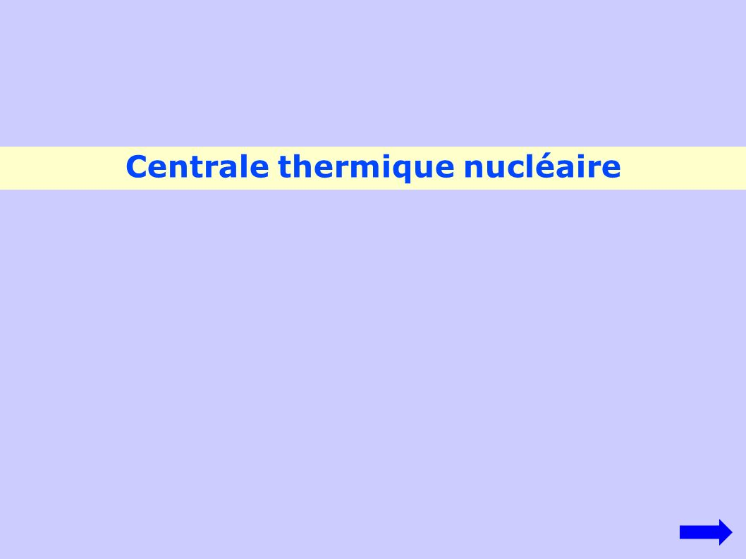 Centrale thermique nucléaire