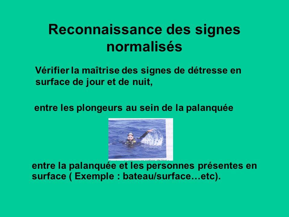 Reconnaissance des signes normalisés