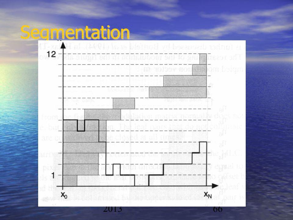 Segmentation Physique/CAL 2012-2013