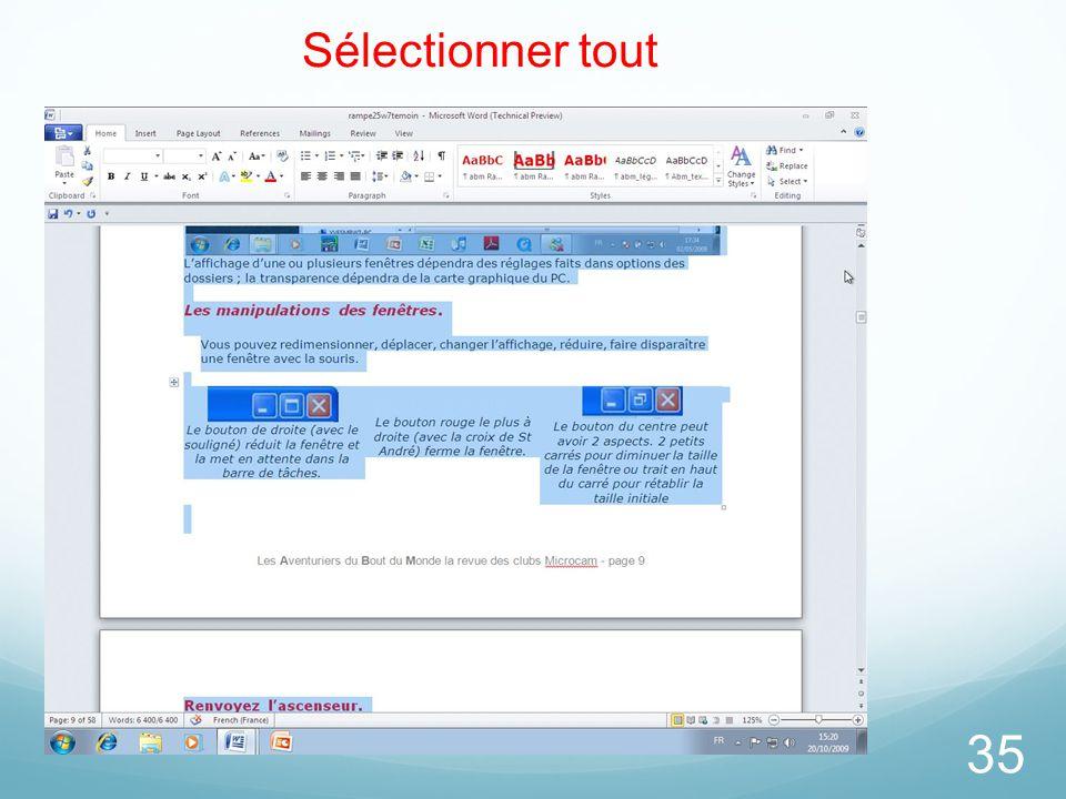 26/03/2017 Sélectionner tout Microsoft Office Word 2010 TP