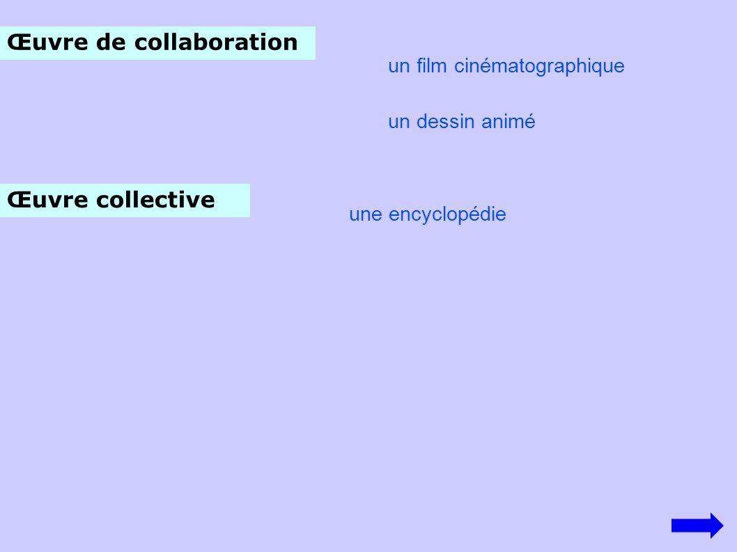 Œuvre de collaboration