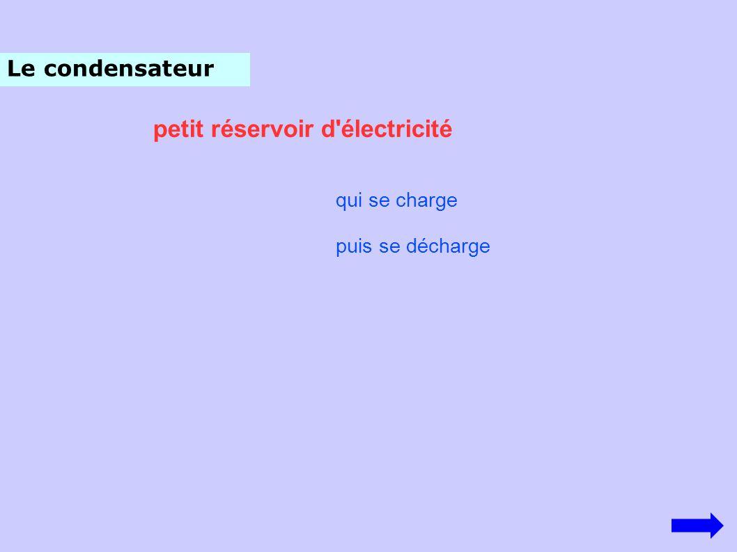 petit réservoir d électricité