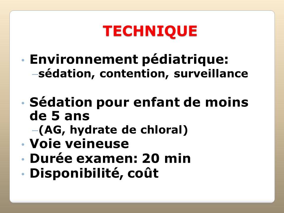 TECHNIQUE Environnement pédiatrique: