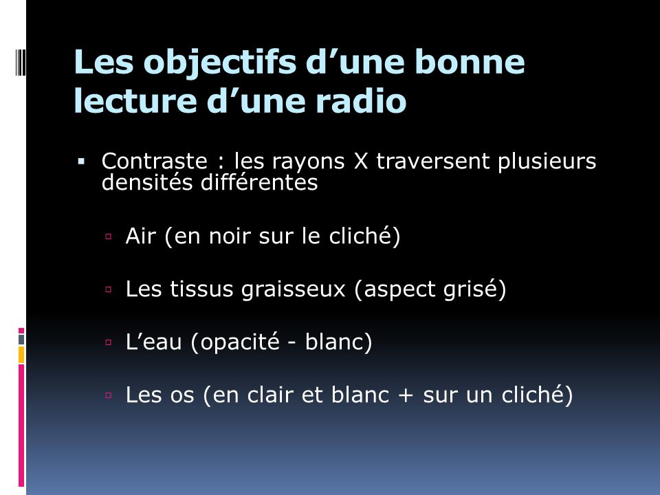 Les objectifs d'une bonne lecture d'une radio