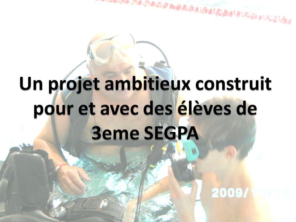 Un projet ambitieux construit pour et avec des élèves de 3eme SEGPA
