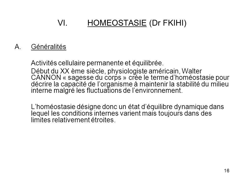 HOMEOSTASIE (Dr FKIHI)