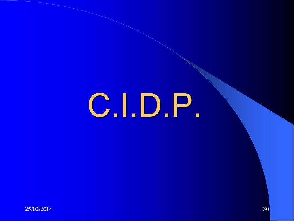 C.I.D.P. 26/03/2017