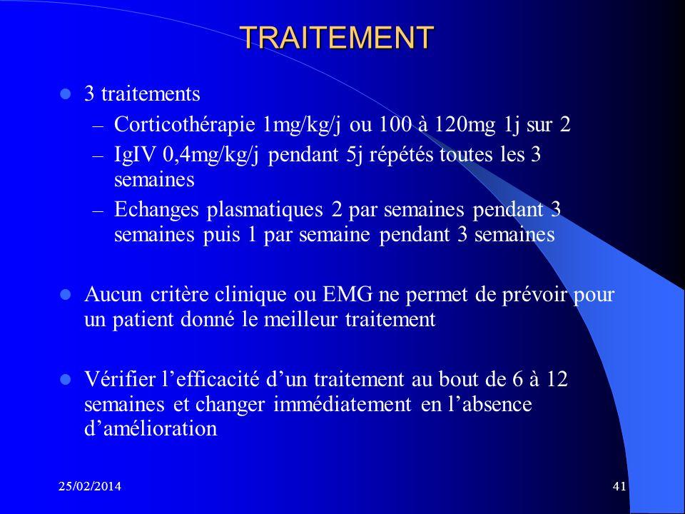 TRAITEMENT 3 traitements
