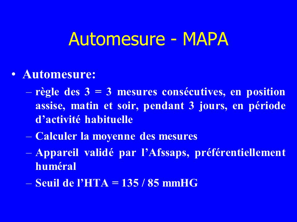 Automesure - MAPA Automesure: