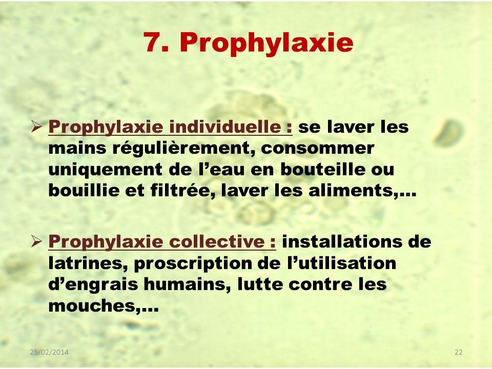 7. Prophylaxie