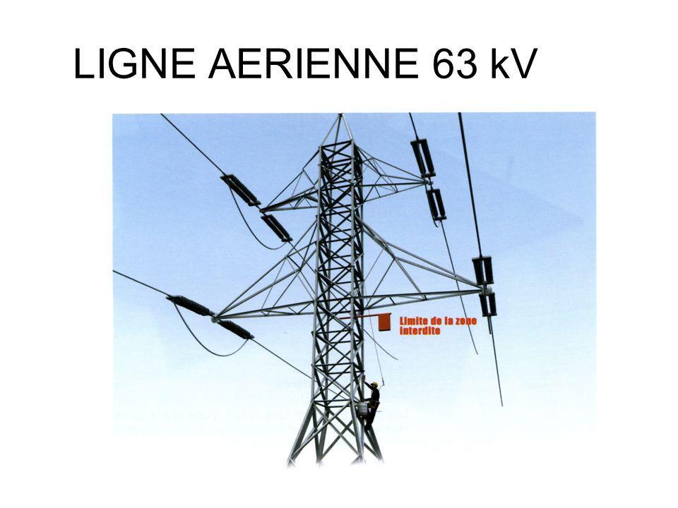 LIGNE AERIENNE 63 kV