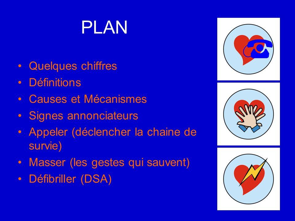 PLAN Quelques chiffres Définitions Causes et Mécanismes