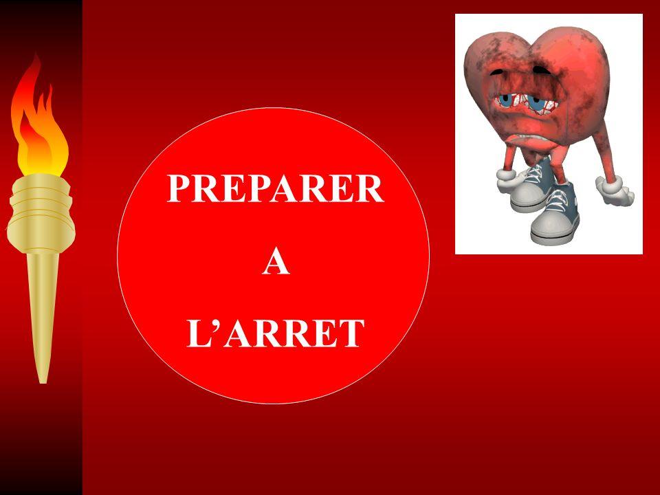 PREPARER A L'ARRET