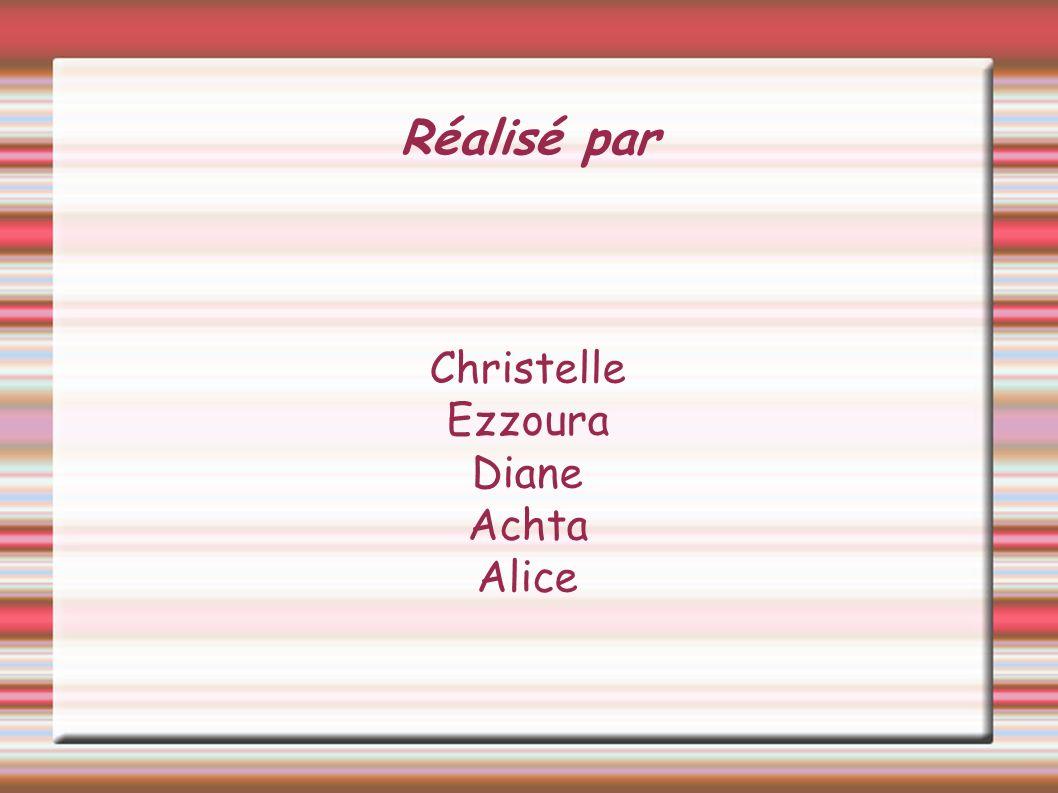 Christelle Ezzoura Diane Achta Alice