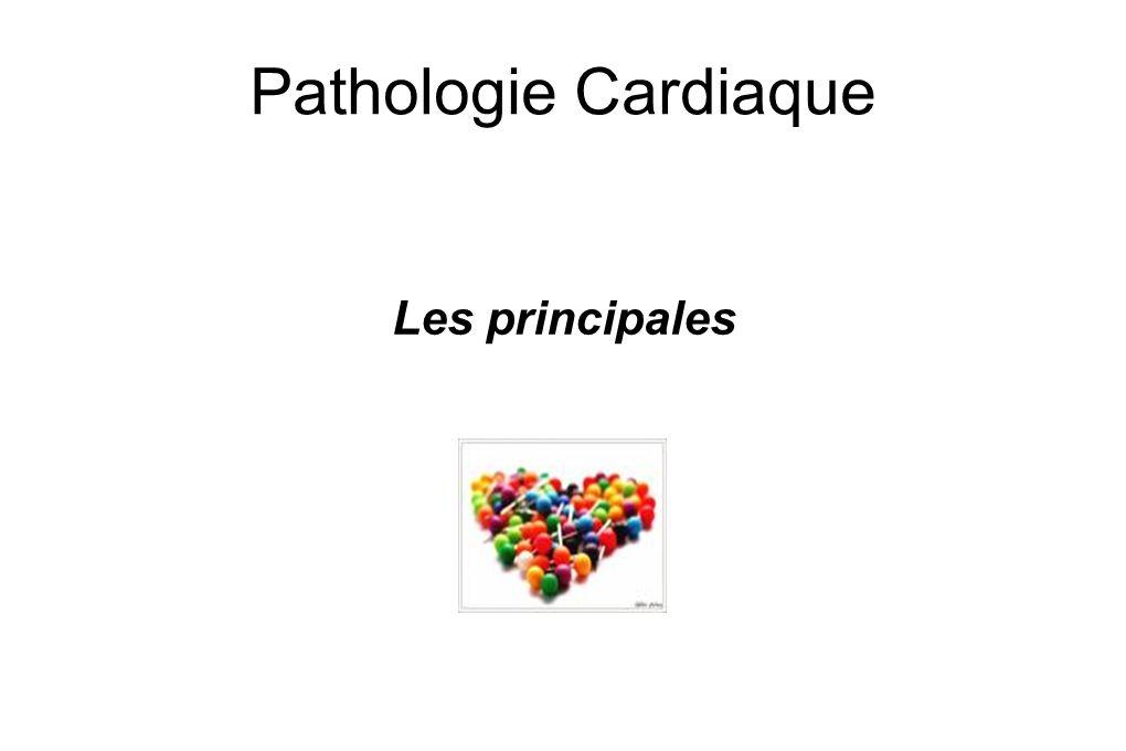 Pathologie Cardiaque Les principales 1