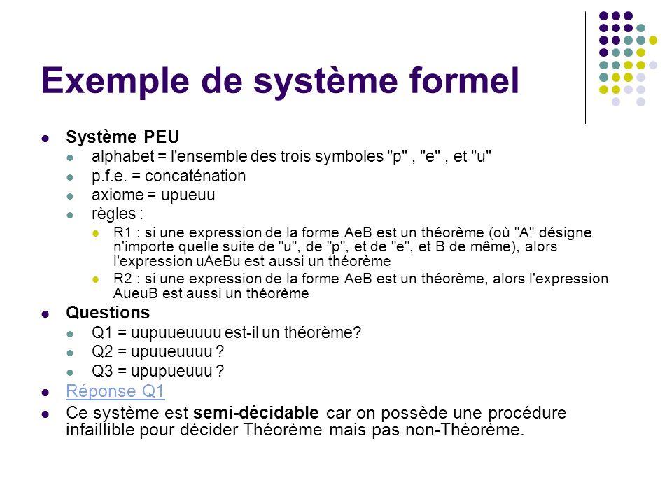 Exemple de système formel