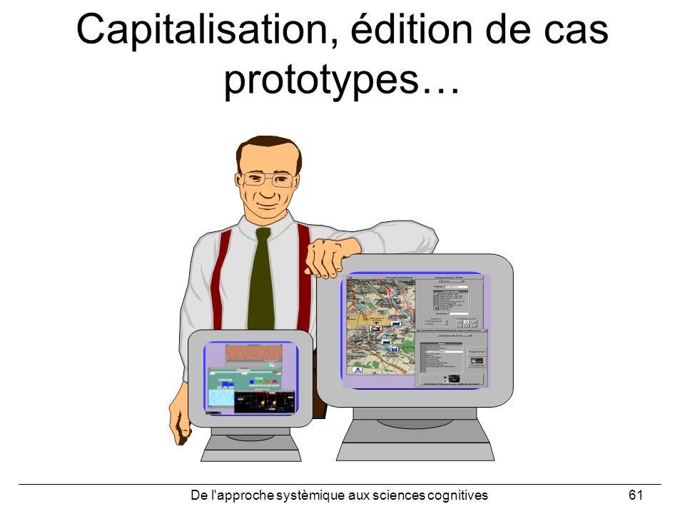Capitalisation, édition de cas prototypes…