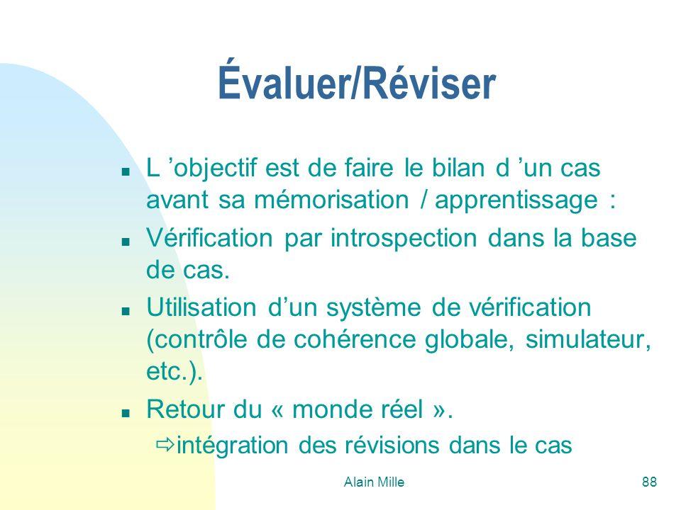 26/03/2017Évaluer/Réviser. L 'objectif est de faire le bilan d 'un cas avant sa mémorisation / apprentissage :
