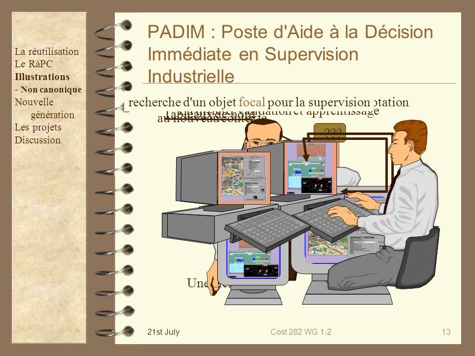 PADIM : Poste d Aide à la Décision Immédiate en Supervision Industrielle
