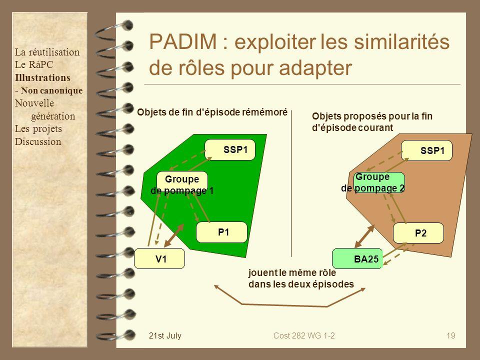 PADIM : exploiter les similarités de rôles pour adapter
