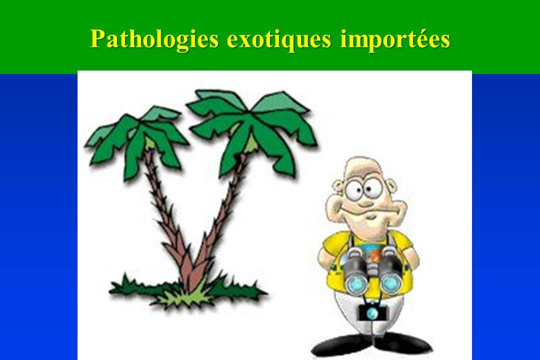 Pathologies exotiques importées