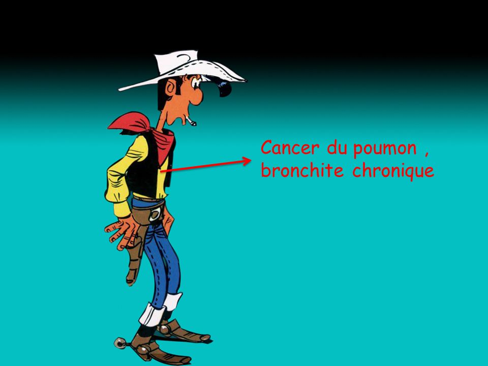 Cancer du poumon , bronchite chronique
