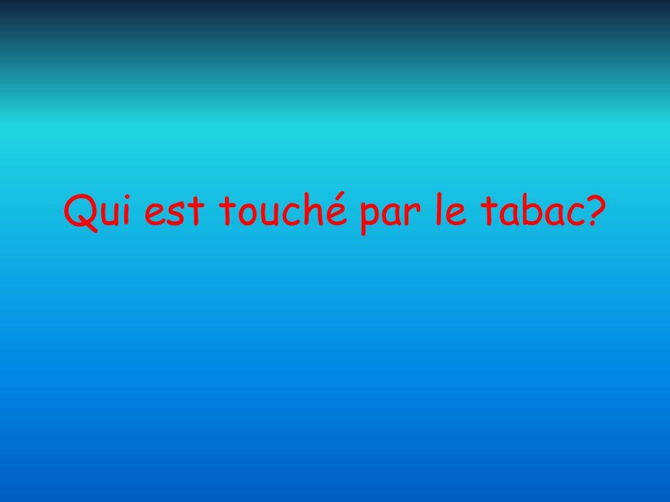 Qui est touché par le tabac