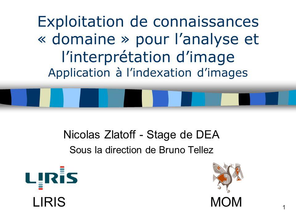 Nicolas Zlatoff - Stage de DEA Sous la direction de Bruno Tellez