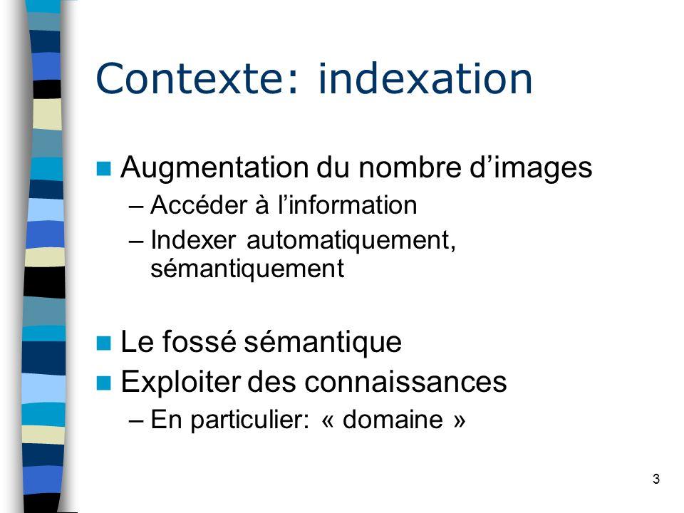 Contexte: indexation Augmentation du nombre d'images