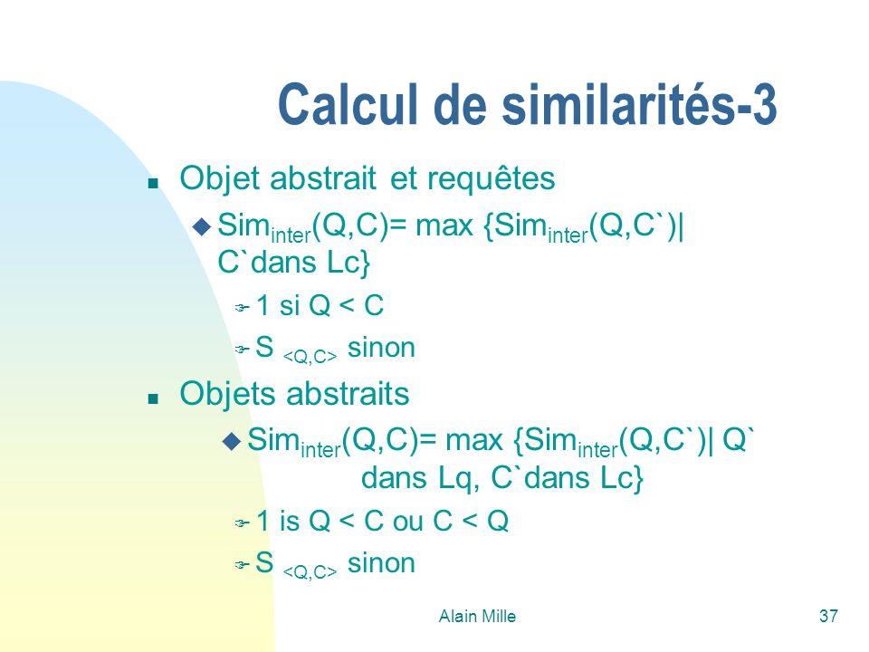 Calcul de similarités-3
