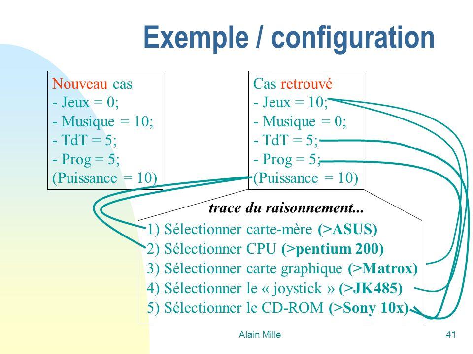 Exemple / configuration